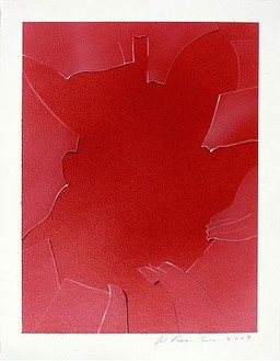 Ed Ruscha, Smashed Pane, 2007 Acrylic on museum board paper, 12 ¼ × 9 ⅜ inches (31.1 × 23.8cm)