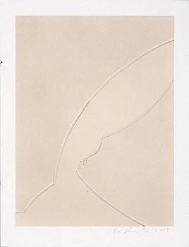 Ed Ruscha: Busted Glass, Davies Street, London