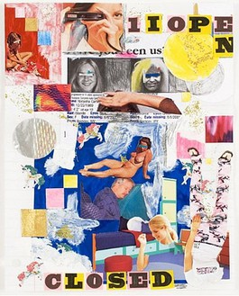 Jim Drain, Untitled, 2007 Mixed media on paper, 11 × 8 ½ inches (27.9 × 21.6cm)