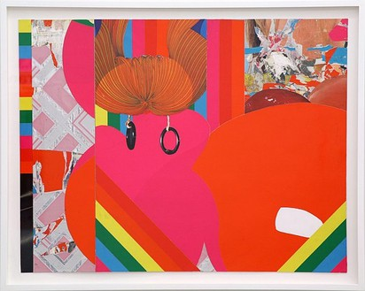 Bjorn Copeland, Untitled, 2007 Collage on paper, 19 ½ × 26 ¼ inches (49.5 × 66.7 cm)