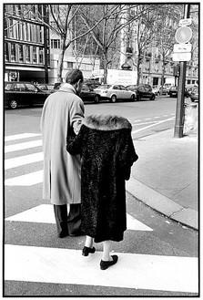 François-Marie Banier, Boulevard Raspail, Paris, January 2005, 2005/07 Gelatin silver print, 63 × 43 ⅜ inches (160 × 110 cm), edition of 7© François-Marie Banier