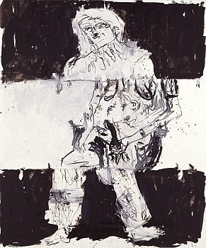 Georg Baselitz: Remix Paintings, 555 West 24th Street, New York
