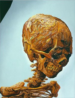 Glenn Brown, Suffer Well, 2007 Oil on panel, 61-13/16 × 47 3/16 inches (157 × 120 cm)
