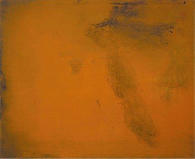 Rudolf Stingel, Untitled, 1986 Oil on canvas, 71 × 86 ¾ inches (180.3 × 220.3 cm)