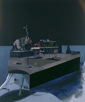 Dexter Dalwood, Altamont, 2007 Oil on canvas, 82 11/16 × 68 ½ inches (210 × 174 cm)