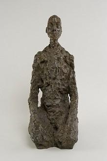 Alberto Giacometti, Buste d'homme assis (Lotar III), 1965 Bronze, 25 11/16 × 11 ⅛ × 13 ⅞ inches (65.5 × 28.2 × 35.5 cm)Courtesy Fondation Alberto et Annette Giacometti