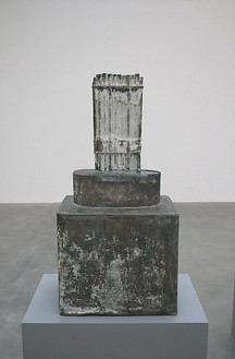 Cy Twombly, Untitled, Rome, 1959–99 Bronze, 26 ⅜ × 13 ⅜ × 10 ⅜ inches (67 × 34 × 26.5 cm), edition of 3
