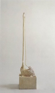 Cy Twombly, Untitled, Rome, 1983 Bronze, 55 ⅞ × 9 ⅜ × 12 ⅝ inches (142 × 24 × 32 cm), edition of 6