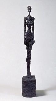 Alberto Giacometti, Femme Debout, 1957 Bronze, 51 13/16 × 7 ½ × 12 13/16 inches (131.5 × 19 × 32.5cm)Courtesy Fondation Alberto et Annette Giacometti