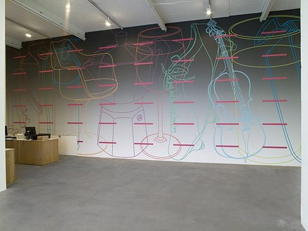 Michael Craig-Martin: A is for Umbrella Installation view