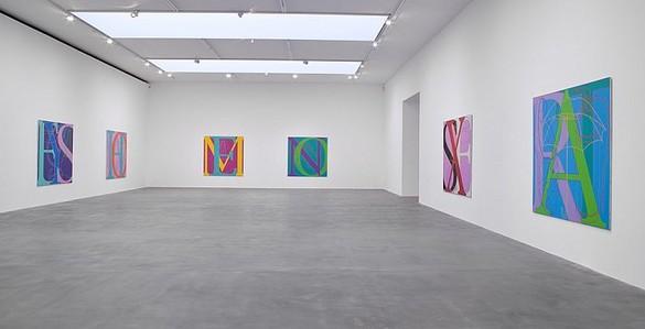 Michael Craig-Martin: A is for Umbrella Installation view