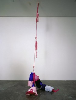 Mike Kelley, Horse Dancers, 2005 Mixed media, 30 × 54 × 31 inches (76.2 × 137.2 × 78.7 cm)