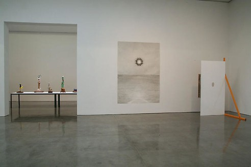 Paul Noble: dot to dot Installation view