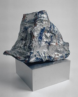 Claes Oldenburg, Cash Register, 1961 Muslin soaked in plaster over wire frame in enamel, 25 × 21 × 34 inches (63.5 × 53.3 × 86.4 cm)
