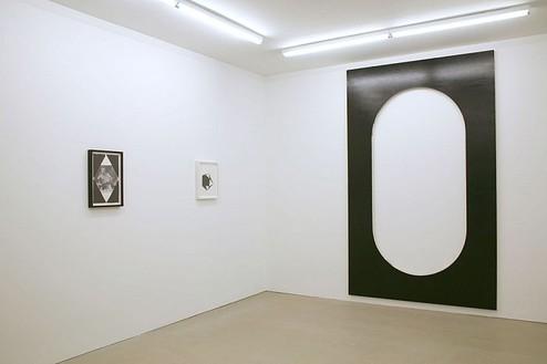 Steven Parrino Installation view