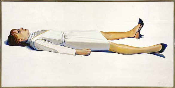 Wayne Thiebaud, Supine Woman, 1964 Oil on canvas, 36 × 72 inches (91.4 × 182.9 cm)