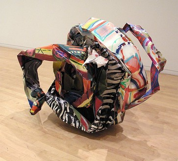 John Chamberlain, Apparentlyoffspring, 1992 Painted steel, 48 × 70 × 56 inches (121.9 × 177.8 × 142.2 cm)