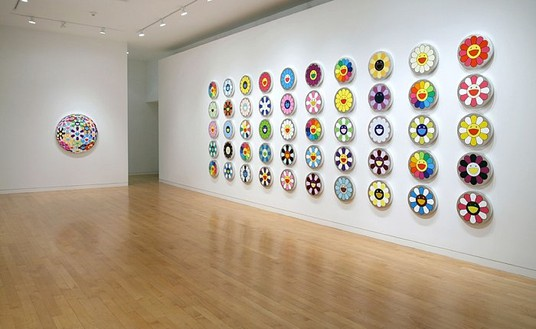 Takashi Murakami Installation view© Takashi Murakami/Kaikai Kiki Co., Ltd. All Rights Reserved.