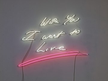 Tracey Emin: YOU LEFT ME BREATHING, Beverly Hills