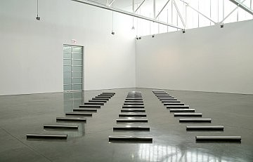 Walter De Maria: 13, 14, 15 Meter Rows, 555 West 24th Street, New York