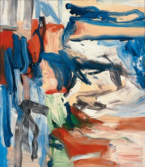 Willem de Kooning, Untitled VI, 1979 Oil on canvas, 80 × 70 inches (203.2 × 177.8 cm)© The Willem de Kooning Foundation/Artists Rights Society (ARS), New York