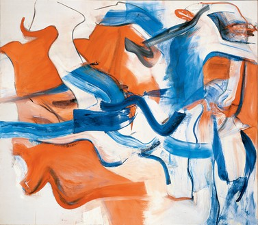 Willem de Kooning, Untitled XIII, 1982 Oil on canvas, 77 × 88 inches (195.6 × 223.5 cm)© The Willem de Kooning Foundation/Artists Rights Society (ARS), New York