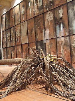 Anselm Kiefer: Palmsonntag, First Baptist Church Gym, Los Angeles