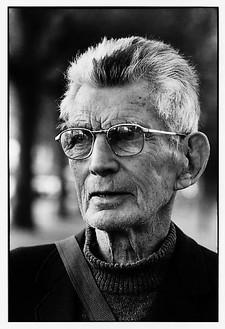 François-Marie Banier, Samuel Beckett, Paris, septembre 1989, 2006 B & W photograph, 15 11/16 × 11 13/16 inches (40 × 30 cm), edition of 7