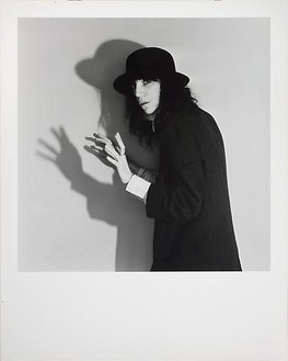 Robert Mapplethorpe, Patti Smith, 1978 B & W photograph, 15 ¼ × 15 ¼ inches (38.7 × 38.7 cm)