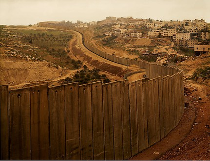 Taryn Simon, The Separation Wall, 2005 Chromogenic print, 48 × 60 inches (121.9 × 152.4 cm), edition of 7