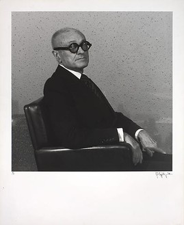 Robert Mapplethorpe, Philip Johnson, 1978 B & W photograph, 14 × 14 inches (35.6 × 35.6 cm)
