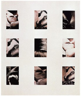 Richard Prince, Live Free or Die 3, 1987 Ektacolor print, 86 × 47 inches (218.4 × 119.4 cm), edition of 2