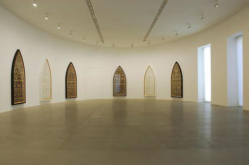 ARTISTS ON VIEW: Georg Baselitz, Damien Hirst Installation view