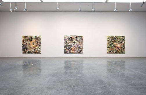 Cecily Brown Installation view