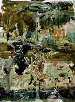 Cecily Brown, Untitled (#92), 2008 Oil on linen, 17 × 12 ½ inches (43.2 × 31.8 cm)