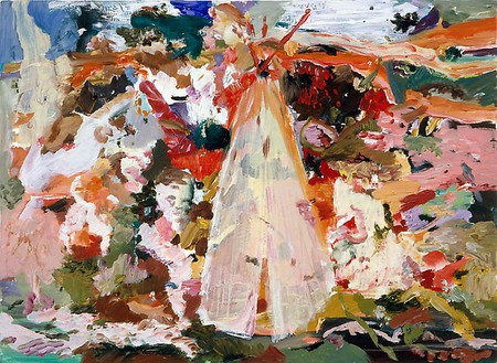 Cecily Brown, Untitled (#8), 2006 Oil on linen, 12 ½ × 17 inches (31.8 × 43.2 cm)