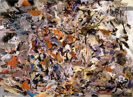 Cecily Brown, Untitled (#38), 2007 Oil on linen, 12 ½ × 17 inches (31.8 × 43.2 cm)