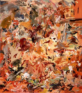 Cecily Brown, Untitled, 2008 Oil on linen, 25 × 22 inches (63.5 × 55.9 cm)