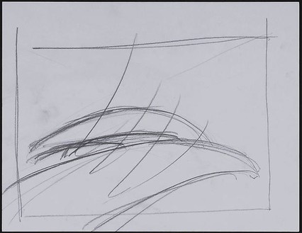 Dan Colen, Group VIII: Gone with the wind, 2008 Pencil on paper, 11 3/16 × 13 11/16 × 1 ⅜ inches framed (28.4 × 34.8 × 3.5 cm)