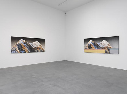 Ed Ruscha: Paintings Installation view