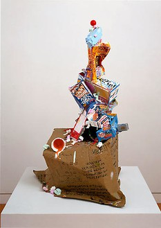 Tom Friedman, Butt Ugly Sculpture, 2008 Paint and mixed media, 42 × 29 × 24 inches (106.7 × 73.7 × 61 cm)