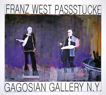 Franz West, Poster Design (Gagosian Gallery), 2007–08 Collage and paint on digital print, mounted on canvas, 67 ½ × 74-13/16 inches (171.5 × 190 cm)