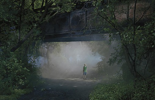 Gregory Crewdson, Untitled, summer 2006 Digital pigment print, framed: 58 ½ × 89 ½ inches (148.6 × 227.3 cm), edition of 6© Gregory Crewdson