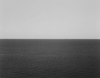Hiroshi Sugimoto, Sea of Japan, Rebun Island, 1996 Gelatin silver print, 60 × 71 ¾ inches framed (152.4 × 182.2 cm), edition of 5