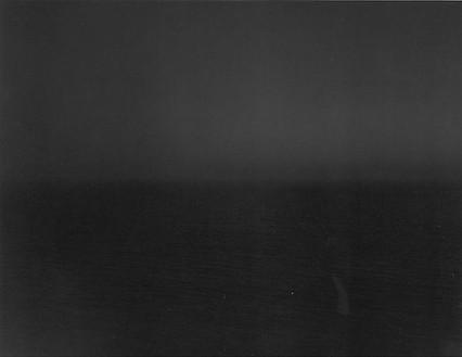 Hiroshi Sugimoto, N. Pacific Ocean, Stinson Beach, 1994 Gelatin silver print, 60 × 71 ¾ inches framed (152.4 × 182.2 cm), edition of 5