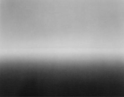 Hiroshi Sugimoto, Ligurian Sea, Saviore, 1993 Gelatin silver print, 47 × 58 ¾ inches unframed (119.4 × 149.2 cm), edition of 5