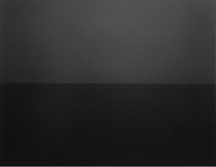 Hiroshi Sugimoto, Ionian Sea, Santa Cesarea, 1990 Gelatin silver print, 60 × 71 ¾ inches framed (152.4 × 182.2 cm), edition of 5