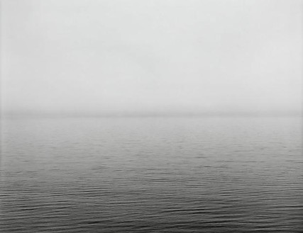 Hiroshi Sugimoto, Lake Superior, Eagle River, 2003 Gelatin silver print, 60 × 71 ¾ inches framed (152.4 × 182.2 cm), edition of 5