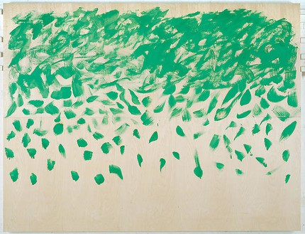 Howard Hodgkin, And the Skies Are Not Cloudy All Day, 2007–08 Oil on wood, 80 ⅛ × 105 inches (203.5 × 266.7 cm)
