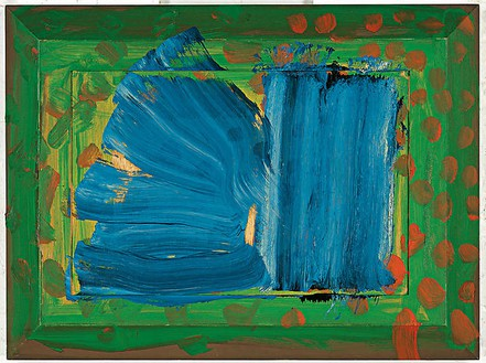 Howard Hodgkin, Close-Up, 2005–07 Oil on wood, 27 3/16 × 36 ¼ inches (69.1 × 92.1 cm)